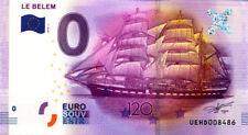 37 TOURS, Le Belem, 120 ans, 2016, Billet 0 € Souvenir