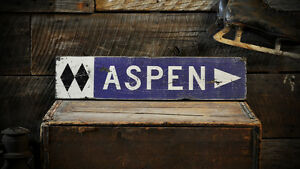 Custom Double Diamond Ski Trail Sign - Rustic Hand Made Wooden