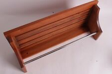 New Pottery Barn Outdoor shower shelf wood