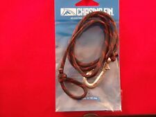 """""""Chasin Fin"""" Fish Hook Bracelet- """"Thin Red Line"""" 550 Paracord /Pewter Hook"""
