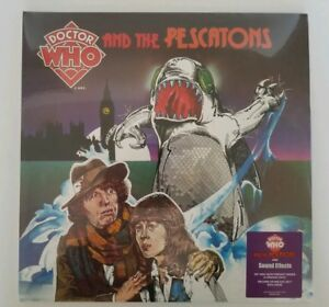 Dr Who and the Pescatons Soundtrack Green/ Orange Vinyl 2017 Sealed RSD New 2 LP