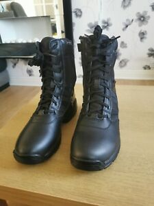 Magnum Panther 8.0 Size Zip Black 8 Inch Boots Brand new. Comes without box.