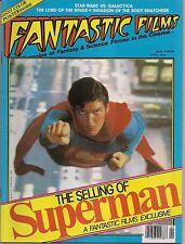 Fantastic Films #7 SUPERMAN CHRIS REEVE, STAR WARS VS GALACTICA