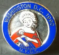 UFDC Doll Convention 1990 Pin