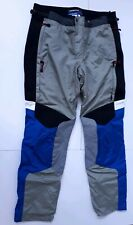 BMW RALLYE 2 PRO pantaloni da moto taglia 118 nuovi Originali BMW grigio blu