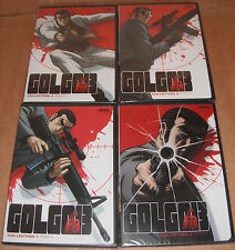 Golgo 13: Collection 1,2,3,4 Complete Collection DVD  NEW