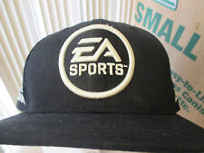 VINTAGE EA SPORTS LOGO X NEW ERA HATS IT'S IN THE GAME BLACK SNAPBACK NWOT DS