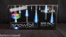 New MULTI Kurt Adler Modern Snowfall Indoor LED LIGHT SF6 6-Inch Tube ADAPTER
