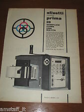 *=OLIVETTI SUMMA PRIMA 20=1961=PUBBLICITA'=ADVERTISING=WERBUNG=PUBLICITE=