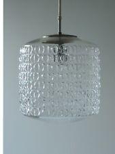 VINTAGE PEILL & PUTZLER GLAS DECKENLAMPE PENDEL LAMPE PENDANT LAMP 50er 60er