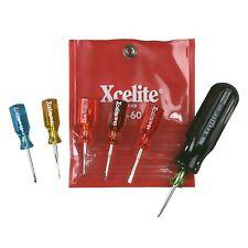 Xcelite M60N 6-Piece Mini-Driver Kit Tool Set Vinyl Pouch