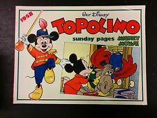 New Comics Now - Topolino Sunday Pages - 1958