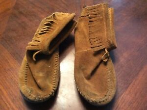 Womens 5 Or Kids 3 Handmade Moccassins Leather Dominican Republic