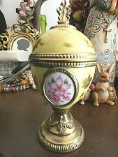 """New listing Vintage House Of Faberge Musical Egg """"Orchid"""" Tchiakovsky's Song Of The Lark"""