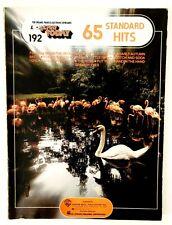 Ez Play Today 65 Standard Hits ~ 1975 Hal Leonard Organ Piano Keyboard Song Book