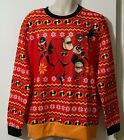 DISNEY Pixar THE INCREDIBLES Ugly CHRISTMAS SWEATER Men's SIZE XL 2XL NWT