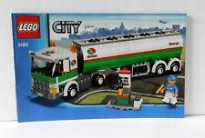 Lego City Bauanleitung/Instruction 3180 Tankwagen