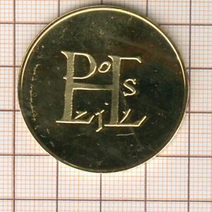 Louis Le Pius 814-840 Superb Medal Vermeil, Monogram, 20.4g