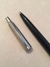 VINTAGE PARKER JOTTER BLACK CT BALLPOINT PEN-USA-NR MINT-NEW OLD STOCK