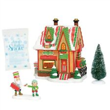 Dept 56 North Pole Ribbon Candy Set of 4 #6004812 Brand New