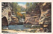 Illinois postcard Deer Park near Starved Rock
