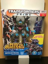 TRANSFORMERS PRIME BEAST HUNTERS VOYAGER CLASS MEGATRON