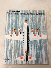 Dunlop Aviation Brochure - Thermal de-icing & heating systems 1967