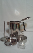 Ozark Trail Stainless Steel 9 Cup Coffee Camping Stove Top Percolator NEW in Box