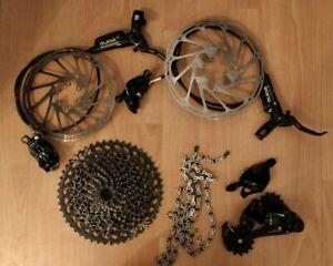 SRAM GX Eagle 12sp Groupset w/SRAM Guide R Brakes