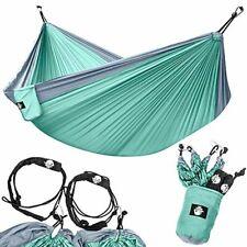 Legit Camping Double Hammock Lightweight Parachute Portable Hammocks for Hik