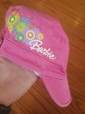 Girls Pink Barbie Baseball Hat
