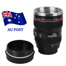 Black Lens Thermos Camera Lens Cup 24-105mm Travel Coffee Tea Mug Cup Gift BO
