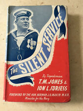 1944 1st Ed - SILENT SERVICE - by Ion Idriess FREE SHIPPING WORLDWIDE