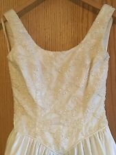 Mode Roman Wedding Gown Size 8 Nice
