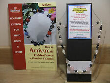FERTILITY An Holistic Hand-Made 18 inch Esoteric Gemstone Necklace plus a book.