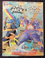 1989 POWER PACK & CLOAK AND DAGGER Marvel Graphic Novel VG/FN 5.0