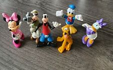 Disney .. Donald Duck And Friends  6 x Assorted Figurines   Vgc