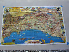 so Calif 1963 Roads to Romance Map MINT Route 66