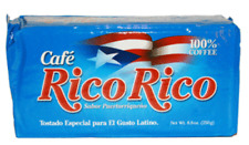 Cafe Rico Rico - 100% Pure Coffee, By Caracolillo Coffee Mills - 8 Oz Vacuum Pac