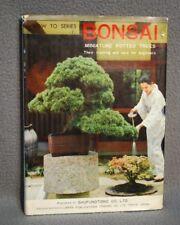 Bonsai: Miniature Potted Trees by Kyuzo Murata 1964 Hc w/ Dj, How To Series 1