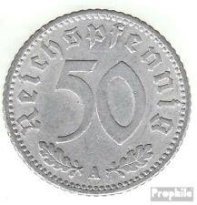 Deutsches Reich Jägernr: 368 1935 J sehr schön Aluminium 1935 50 Reichspfennig R