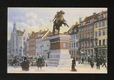 Denmark KOBENHAVN Copenhagen Absalon Statuen street scene c1902 u/b PPC