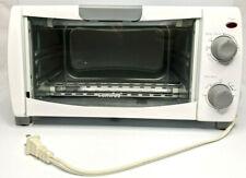 Comfee' Toaster Oven Countertop, 4-Slice, Compact Size, White (Cfo-Bb102)
