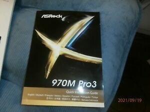 ASRock 970M Pro3 Quick Installation Guide Only