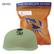 No Toil Motocross Air Filter Pre-Oiled Kawasaki Kx250f Kx450f 06-15