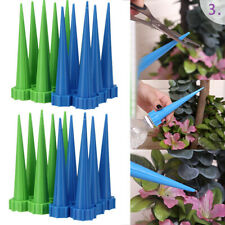 24x Garden Cone Watering Spike Plant Flower Waterers Bottle Irrigation System Us