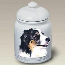 Australian Shepherd Ceramic Treat Jar Bvv 23059