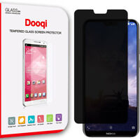 Dooqi Privacy Anti-Spy Tempered Glass Screen Protector Saver For Nokia X6