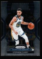 STEPHEN CURRY WARRIORS SILVER DOMINANCE INSERT CARD SP 2018-19 PANINI PRIZM #18