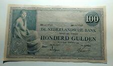 100 Gulden Netherlands 1928 XF